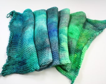Tomfoolery--hand dyed double stranded sock blank, merino and nylon (462yds/100gm)