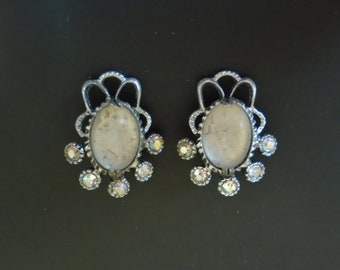 Selro Corp Signed Earrings/Shoe Clips