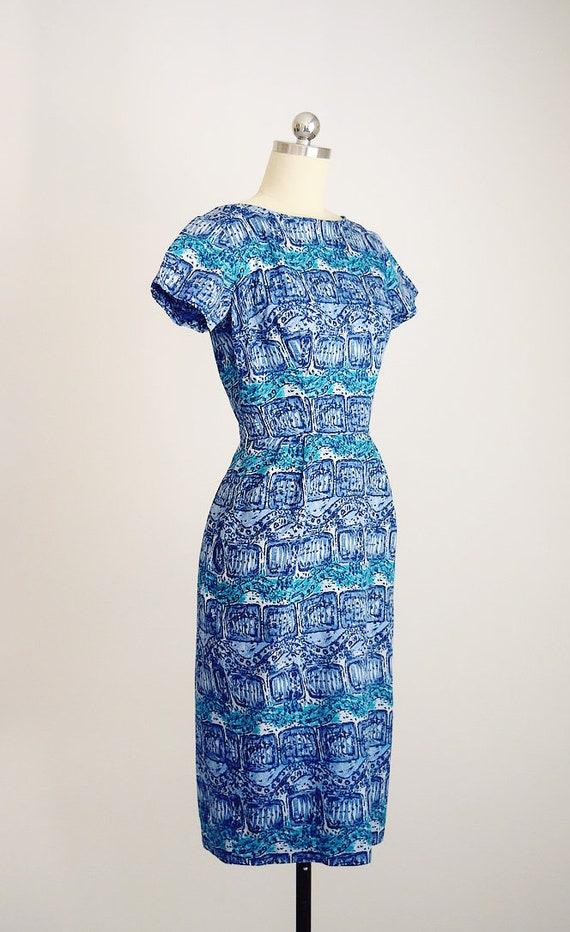 "1950s batik tiki dress ""AnR Jr"" - image 7"
