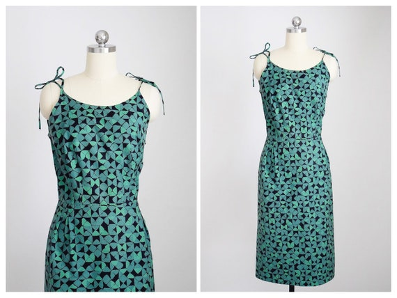50s cotton sundress