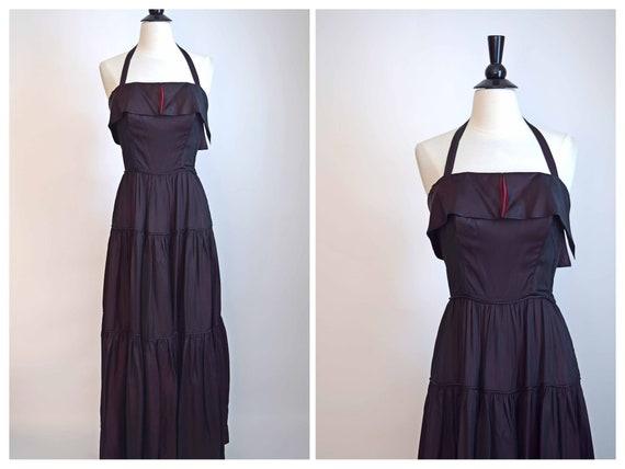 Vintage 1940s Dress - Gorgeous 40s Evening Dress