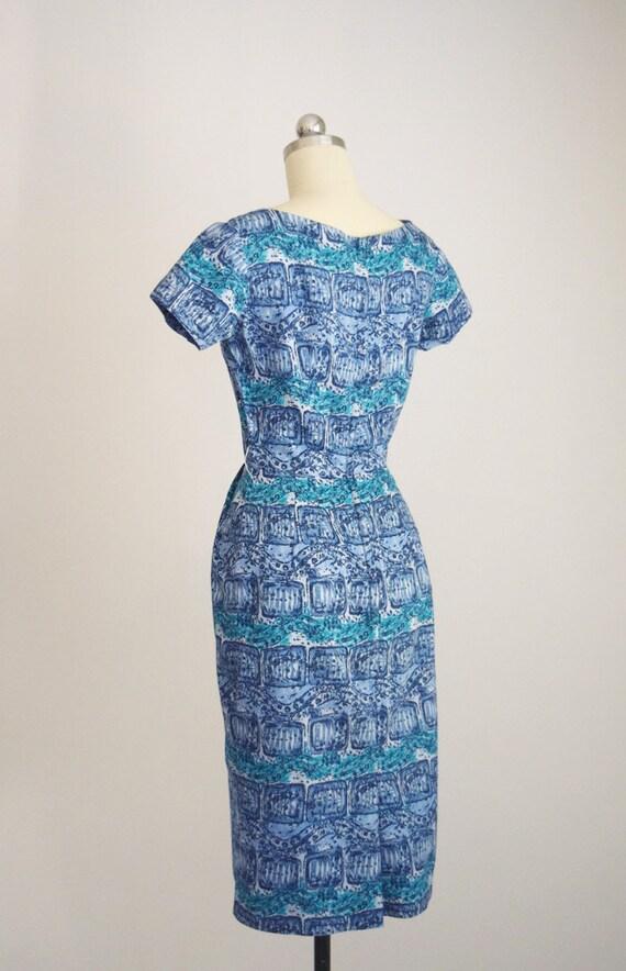 "1950s batik tiki dress ""AnR Jr"" - image 5"