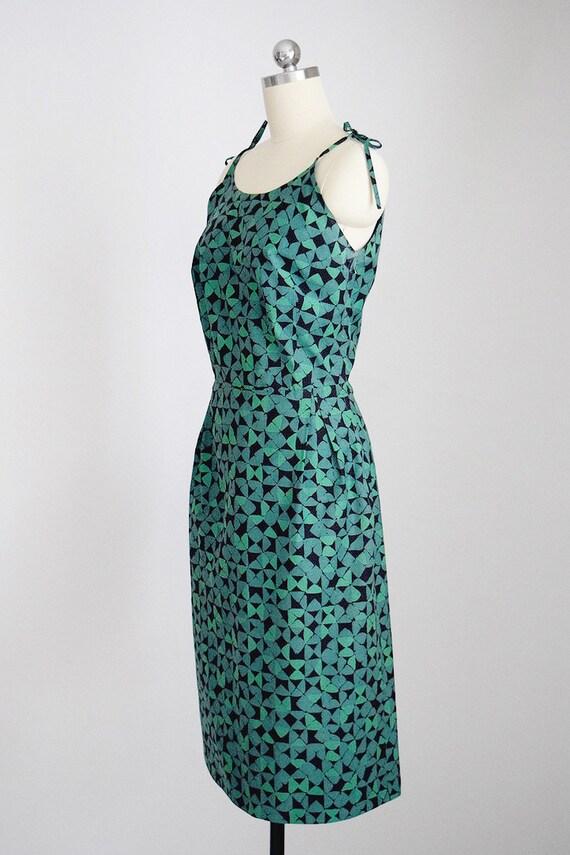 50s cotton sundress - image 3