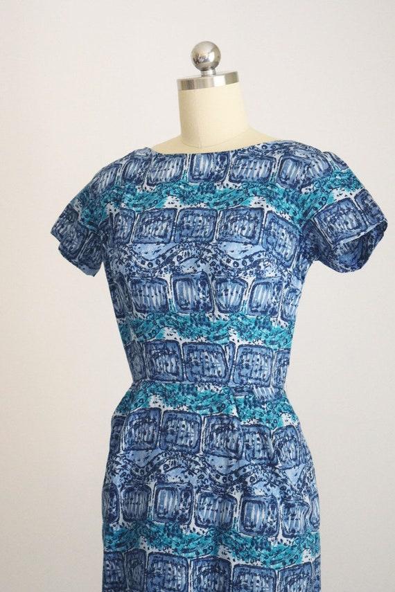 "1950s batik tiki dress ""AnR Jr"" - image 2"