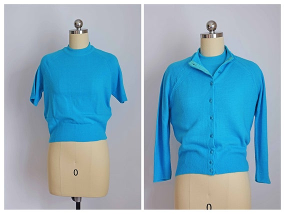 the perfect pairing 50s sweater set | 1950s Orlon