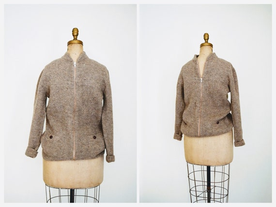 The Tobacconist Cardigan   mens 1950s sweater