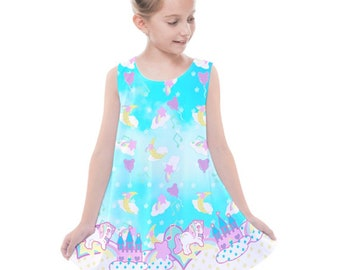 ae039de839052 Sweetie Dreams and Trixie Dreamy Castle Dress