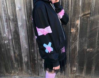 2ac0ddec885b4 Painfully Hurt Abby Bunny Bandage Sweater