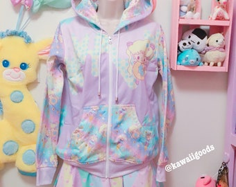 Sailor Sweets Moon Ice Cream Donut Jacket Size L