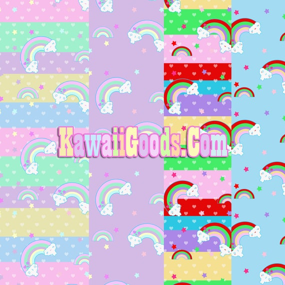 Arc En Ciel Nuage Amis Yume Kawaii Fairy Kei Decora Dress