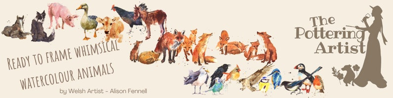 Leopard Watercolor Print