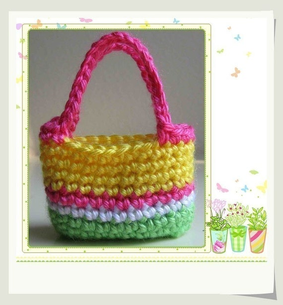 Drawstring Purse that turns into a Cradle! FREE Pattern | Crochet ... | 613x570