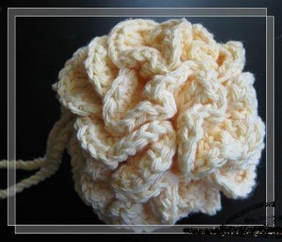 Puff Pattern Corcheted Bath Puff Pattern Crocheted Cotton Bath