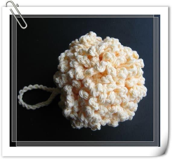 Pattern Crochet Bathshower Puff Cluster