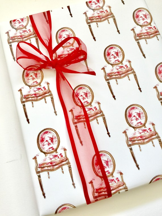 image 0 - Elegant Christmas Wrapping Paper