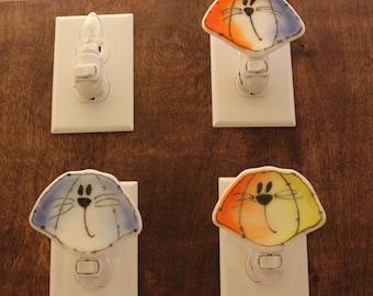 Dog Night Light, Puppy Nightlight, Night Light, Dog Lovers Gift, Gift for Teacher, Kids Room,
