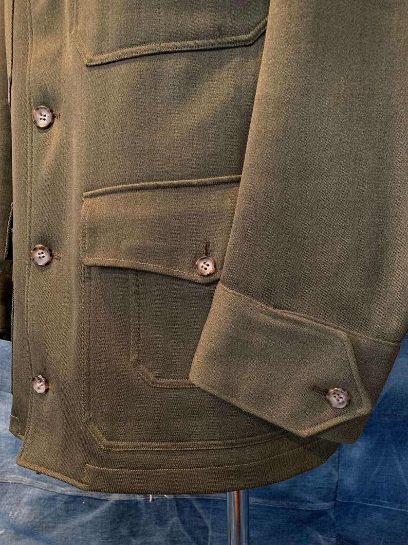 Mackinaw Cruiser Jacket L Pockets Forestry Hunting 60s Nudelman Bros
