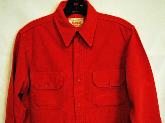 KAMP-IT by DUXBAK, 1930's camping shirt, vintage c