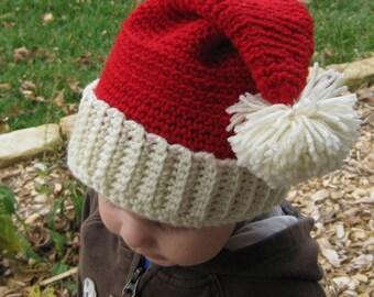 fbc535536 Kids santa hat | Etsy