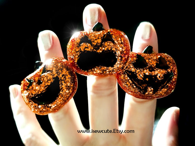Pick Your Pumpkin Halloween Party Jewelry Trick or Treat Jack image 0
