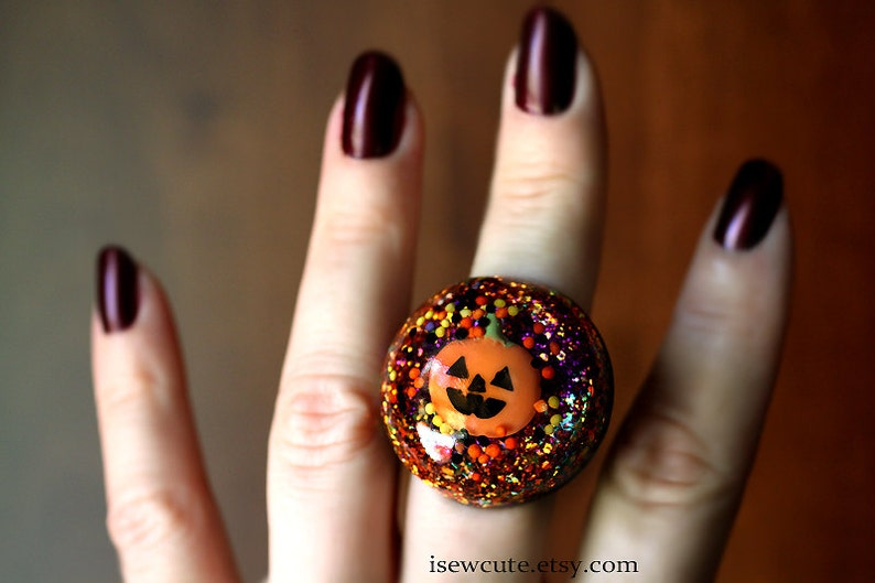 Happy Halloween Jewelry  Trick or Treat Jack O' Lantern  image 0