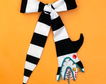 Sandworm bow tie!  // spooky bow tie