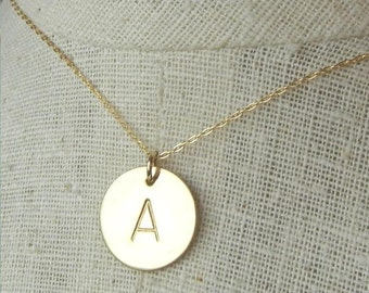 Gold initial pendant etsy gold initial necklace gold letter necklace gold monogram necklace 14k gold filled name necklace custom initial jewlery eriadesigns aloadofball Gallery