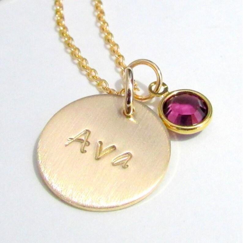 Birthstone name necklace Birthstone Necklace with names Names necklace Necklace with names for mom Birthstone necklace for mom