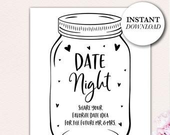 graphic relating to Jar Printable named Day jar printable Etsy