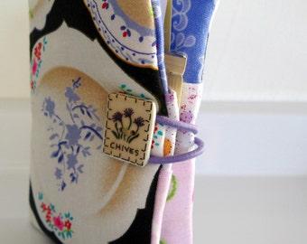 Tea Bag Wallet-Porcelain Plates and Teacups, Porcelain Plates and Teacups Teabag Wallet, Porcelain Teacups Teabag Holder, Credit Card Holder