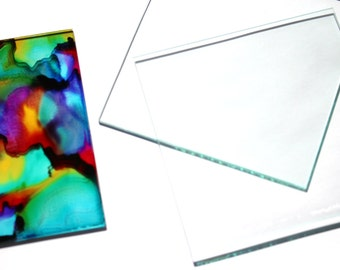 X Glass Tile Etsy - Clear glass tiles 4x4