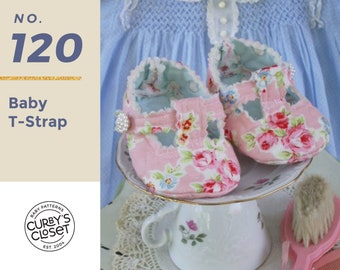 PDF Pattern Baby T-Strap Adorable and Fun to make- Instant Download