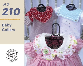 PDF Pattern Baby Collar Pattern Adorable and super easy to make