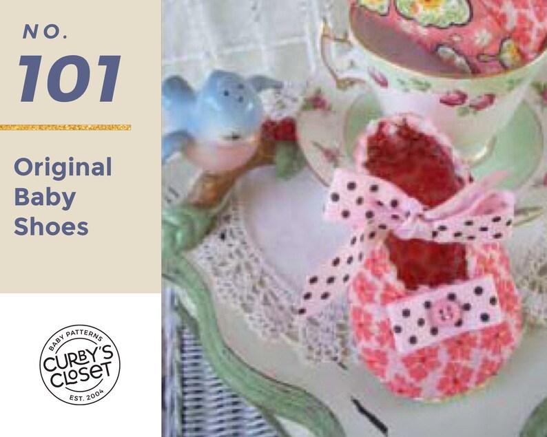 PDF Pattern Original Baby Shoe Adorable and Fun to make image 0