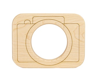 Camera Baby Toy Wooden Teether