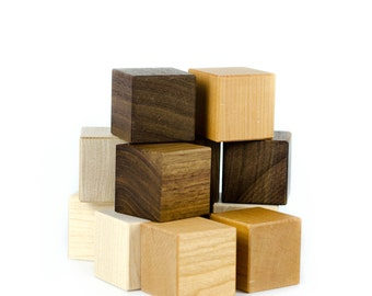 Waldorf Toy Wooden Blocks