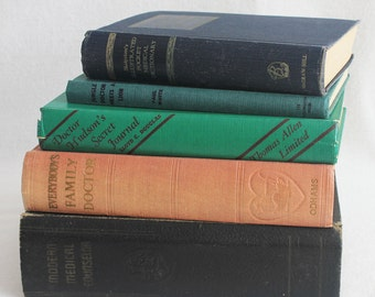 Vintage book journal--you choose the book // Medical Books // Recycled Book by PrairiePeasant