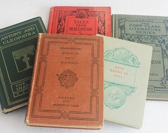Old book journal--you choose the book / Choose Your Journal / Vintage Shakespeare Books / Recycled book by PrairiePeasant