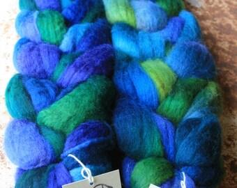 Blueface Leicester Spinning Fiber - 'Blue Bells'
