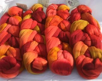 Targhee Wool Spinning Fiber - 'Piquante'