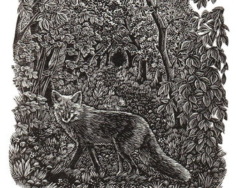 The Fox In The Wood   *New*