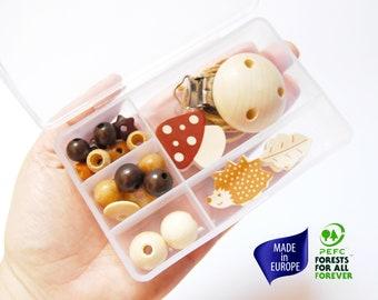 Online  business Starter kit. Beaded dummy clip making kit Craft kit