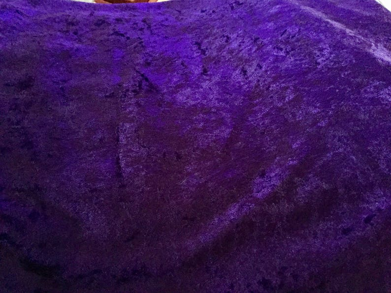 Purple 2 way Stretch Fabric 2.75 yards 64 inches wide Excellent Comdition