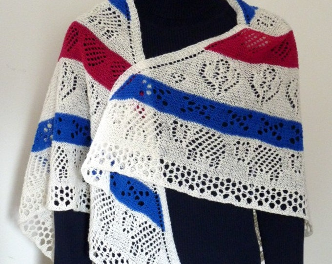 pdf pattern for The Scottish Shawl by Elizabeth Lovick - instant download