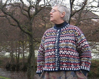 pdf pattern for the Leogh Jacket by Elizabeth Lovick, with notes - instant download