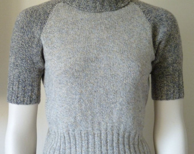 pdf pattern for a Long or Short Sleeved All-Age Raglan Sweater in Fingering yarn by Elizabeth Lovick - instant download