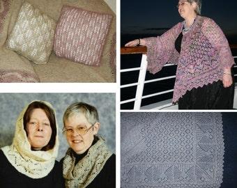 Extra Patterns for Shetland Lace by Elizabeth Lovick - instant download