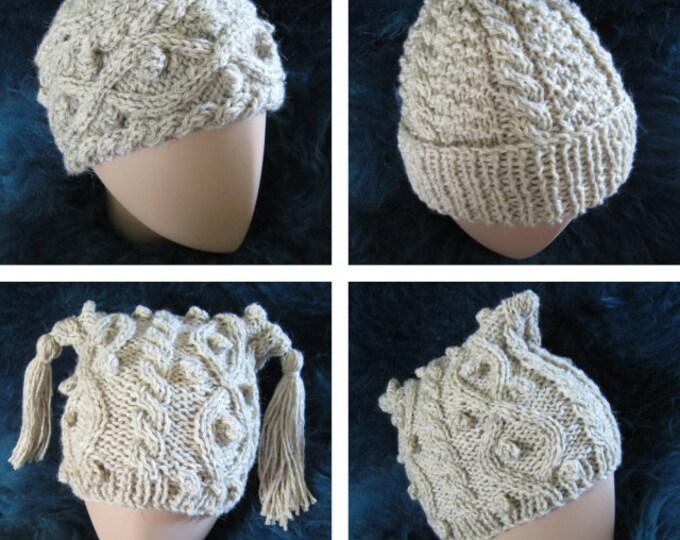 pdf pattern for Three North Ronaldsay Hats by Elizabeth Lovick - instant download