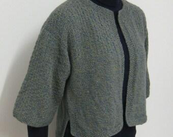 pdf pattern for a Kimono Sleeved Jacket by Elizabeth Lovick