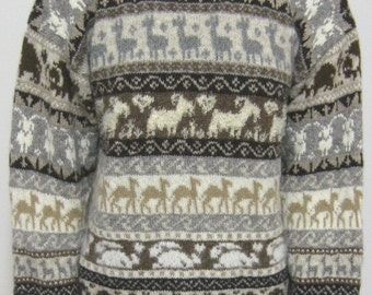 pdf pattern for the March of the Fibres Sweater by Elizabeth Lovick